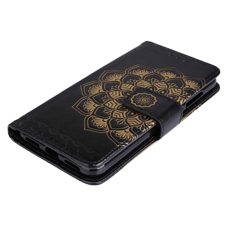 Magnetisch Verschluss Handyh/ülle f/ür Huawei P8 Lite 2017 Gold CAXPRO/® Leder Schutzh/ülle mit Klappfunktion Huawei P8 Lite 2017 H/ülle Kratzfestes Tasche