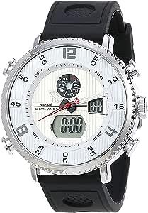 Kit Relógio Masculino Weide AnaDigi WH-6106 com Pulseira