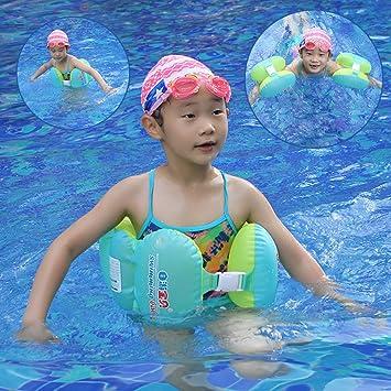 Leegoal S/1-4 Años Flotador Seguridad De Aprendizaje De Natación Para Niños, Hinchable Manguitos Para Aprender a Nadar: Amazon.es: Deportes y aire libre