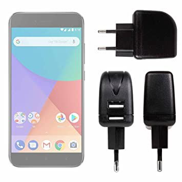 DURAGADGET Cargador con Enchufe Europeo para Smartphone ...
