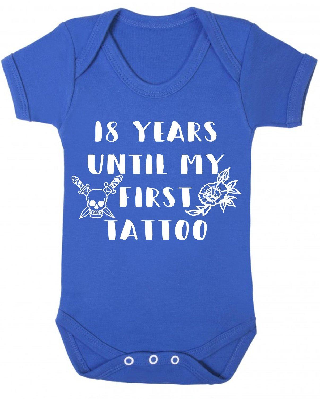Chaleco para bebé de 18 años hasta mi primer tatuaje, color azul ...