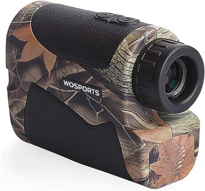 Best rangefinder :Wosports Hunting Range Finder, Archery Rangefinder