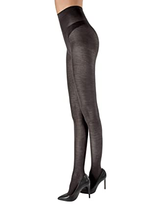 a few days away special selection of stable quality Carbonara Merino Wool Tights Fumo M at Amazon Women's ...