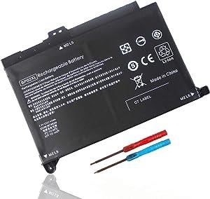 Yongerwy 41Wh BP02XL Laptop Battery for HP Pavilion Notebook PC 15 15-AU000 15-AU010WM 15-AU018WM 15-AU020WM 15-AU062NR 15z-AW000 AW068NR AW053NR 849569-421 BP02041XL 2ICP7/65/80 HSTNN-UB7B TPN-Q172