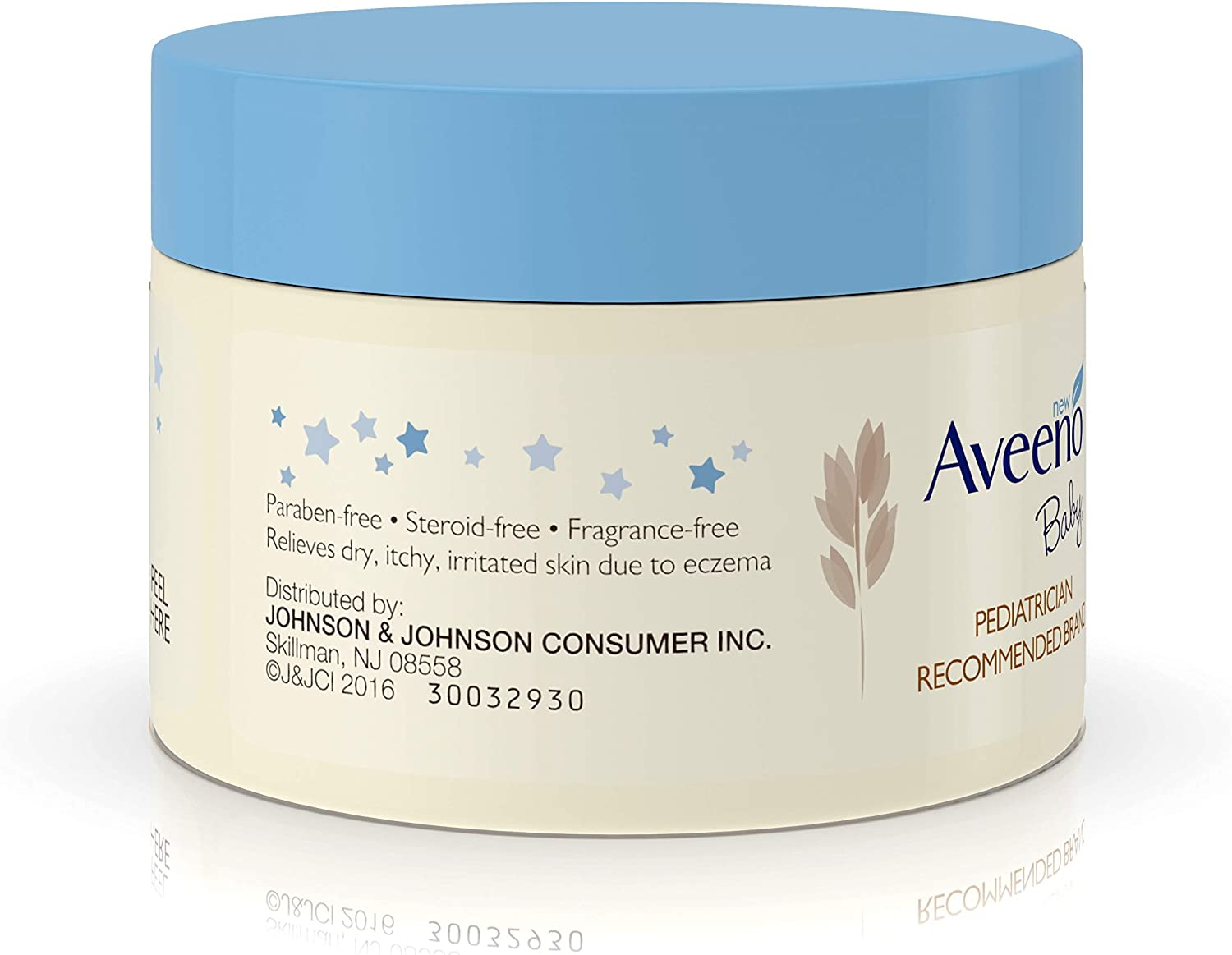 Aveeno Baby Eczema Therapy Nighttime Balm with Natural Colloidal Oatmeal for Eczema Relief, 1 oz: Health & Personal Care