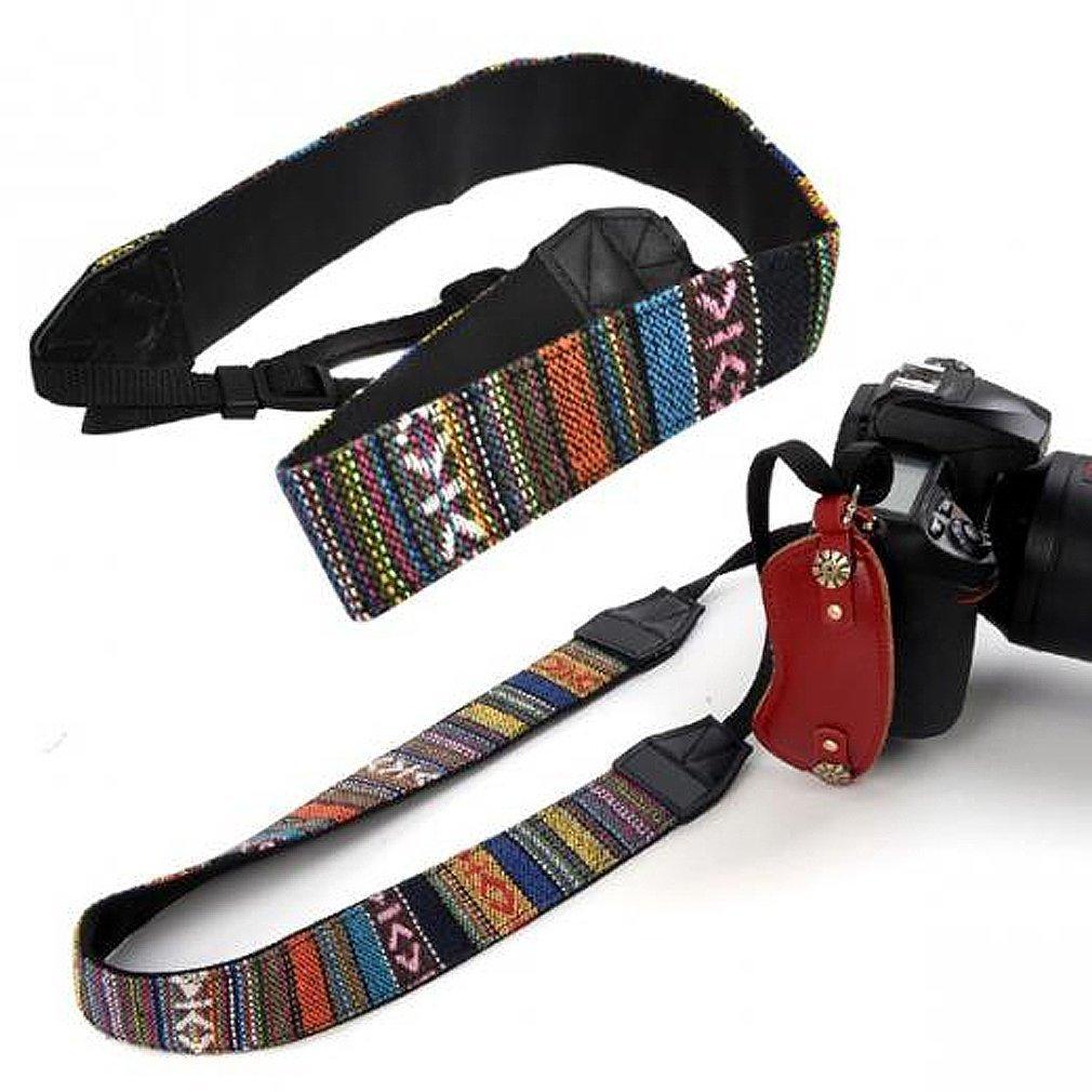 SODIAL(R) Correa de Hombro Cuello de Camara para DSLR Nikon Canon Sony Panasonic 010019