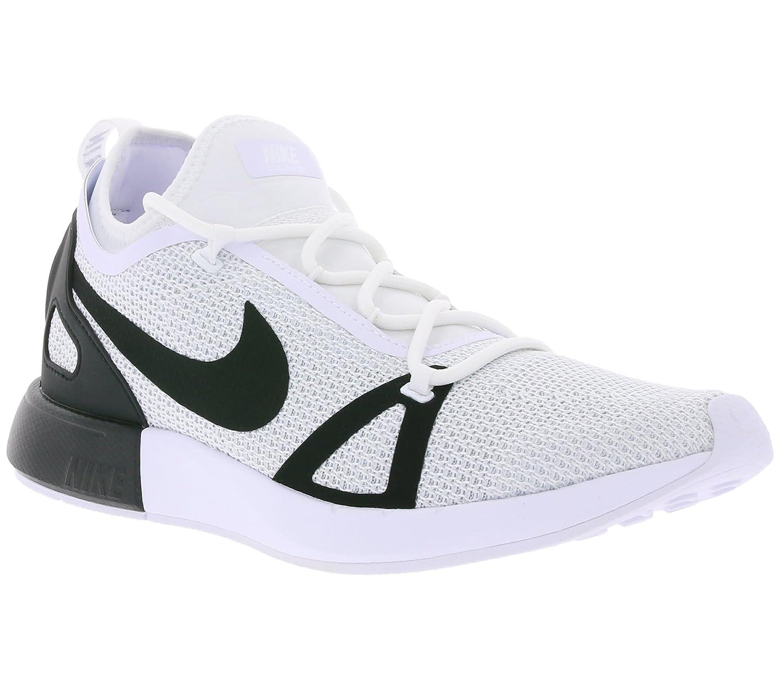 NIKE Men's Duel Racer Shoe B07456CL2D 7.5 D(M) US|White Black Pure Platinum 102