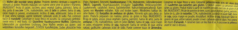 Dr. Schar - Wafer Avellana Barquillos,125 gr, Pack de 3: Amazon.es: Alimentación y bebidas