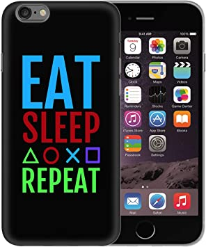 Eat Sleep Gaming Pictograms Repeat Geek Life_BEN0701 Protective ...