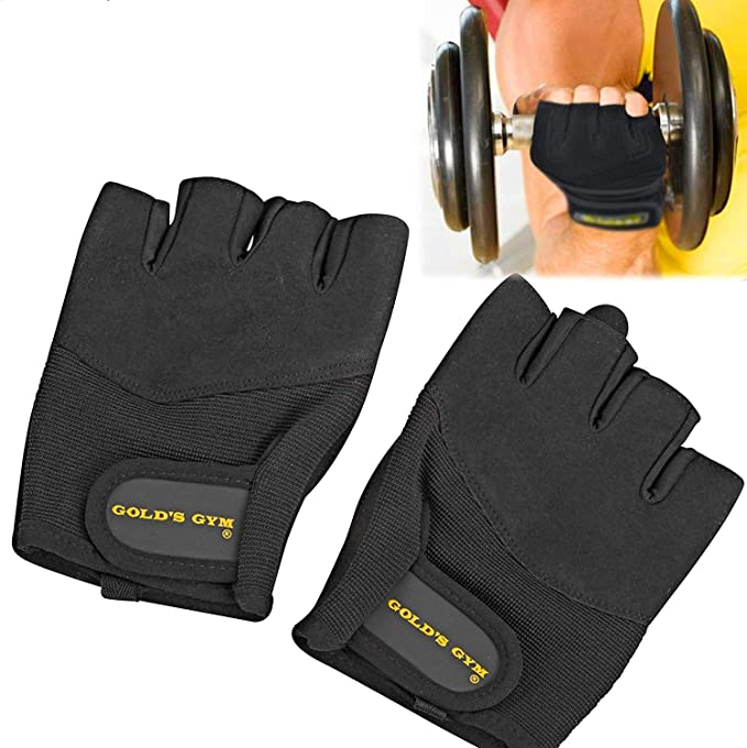Golds Gym Elite Wrist Wrap Gloves M//L New