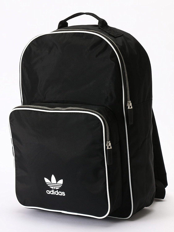 (アディダス) adidas シンプル ロゴ バックパック リュック BP CLASSIC ADICOLOR B07CYXTZ9N  ブラック