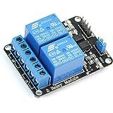 Ecloud Shop 2 Kanal 5V Relay Relais Module Modul für Arduino Special Sensor Shield V4.0