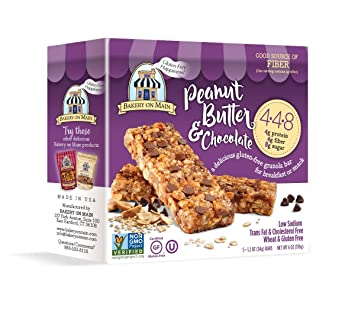 Panadería On Main sin gluten 4 – 4-8 Granola Bars: Amazon ...