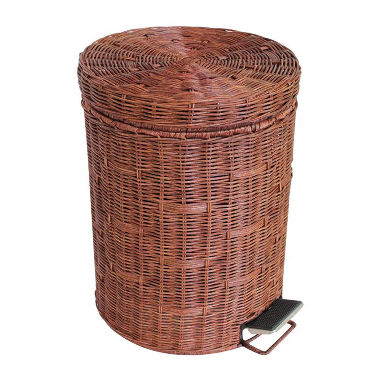 JFBZS-cubo basura Bambu Creativos y reciben latas y Cubos de Madera C 87.
