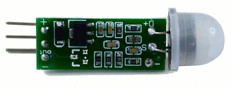 Mini PIR (Passive Infrared) Motion Sensor, HC-SR505: Amazon.es: Electrónica