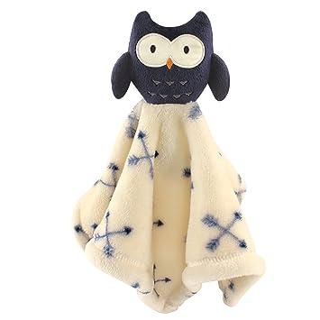 Amazon Com Hudson Baby Animal Friend Plushy Security Blanket Blue