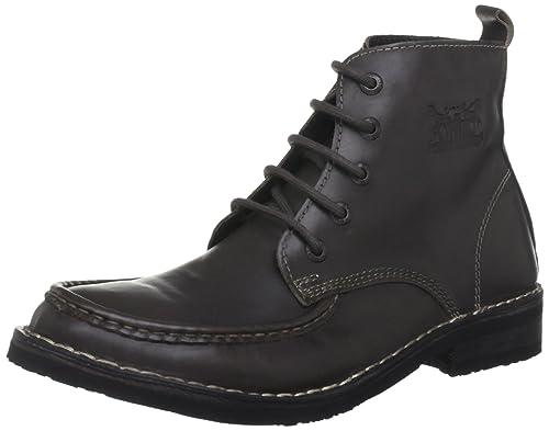 Levis 217713 - Botas de cuero hombre, color marrón, talla 41 EU
