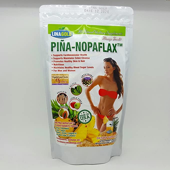 Amazon.com: linagold pina-nopaflax Suplemento dietético 15 ...