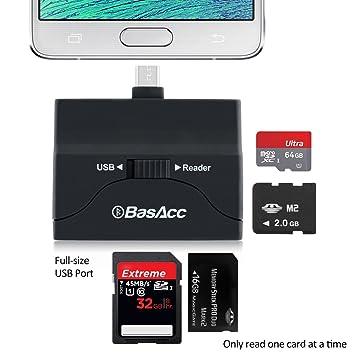 Amazon.com: basacc 2-en-1 adaptador de disco OTG/Micro ...