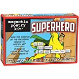 Magnetic Poetry - Superhero Kit - Words for Refrigerator - Write Poems and Letters on the Fridge - Made in the USA