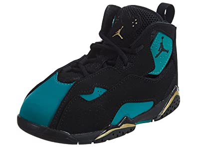 best website a174b 27b8e JORDAN TRUE FLIGHT GT girls basketball-shoes 645071-014 6C - BLACK BLACK-