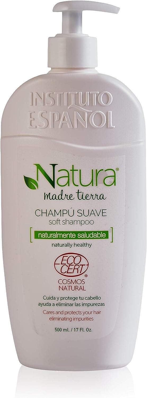 Champú - Natura Madre Tierra 500 ML - Instituto Español - Apto para Veganos
