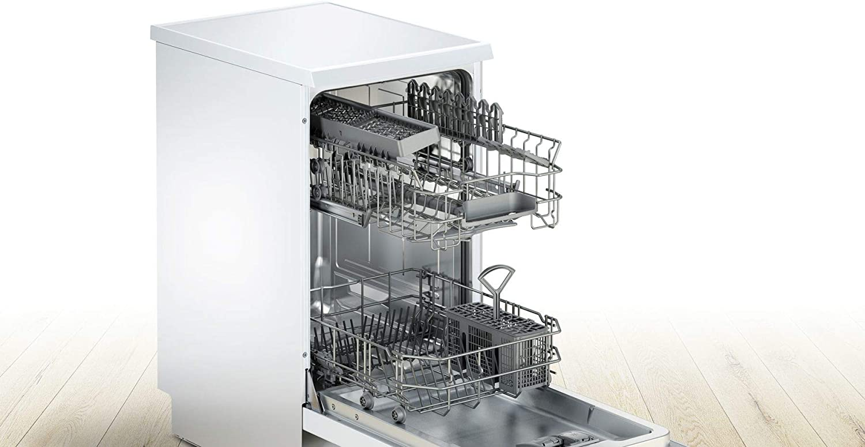 Lavavajillas - Bosch SPS25CW05E 9 servicios Extra silencioso ...