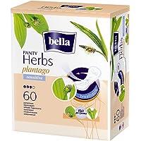 BELLA HERBS PANTYLINERS SENSITIVE WITH PLANTAGO 60 PCS
