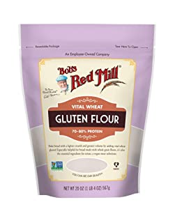 Bob's Red Mill Vital Wheat Gluten Flour, 20 Ounce