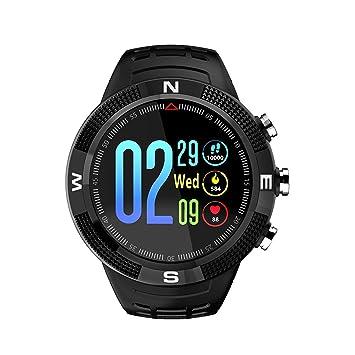 CHANG Reloj Elegante para Hombre, Mujeres Deportes Bluetooth 4,2 IP68 Impermeable Relojes Inteligentes, CaracteríSticas-GPS Llamada Mensaje Recordatorio ...