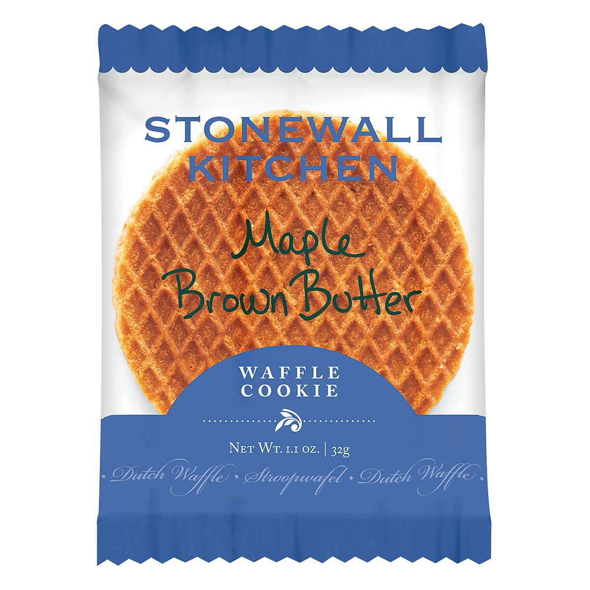 Stonewall Kitchen Maple Brown Butter Waffle Cookie, 1.1 ounce by Stonewall Kitchen (Image #1)