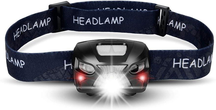 Waterproof  USB Rechargeable LED Headlight Head Torch Flashlight Bright light UK