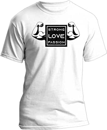 Strong Love Passion Ace Round Neck T-Shirt