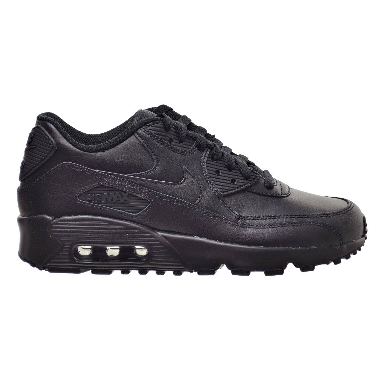 buy popular 8a0d3 b4112 Nike Air Max 90 LTR (GS) Big Kid s Shoes Black 833412-001 (6 M US)   Amazon.ca  Shoes   Handbags