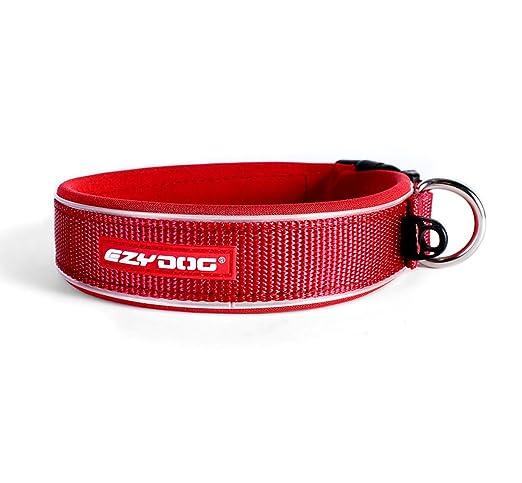 2 opinioni per EzyDog Neo collare di cane, Medium (39-44 cm), Rosso