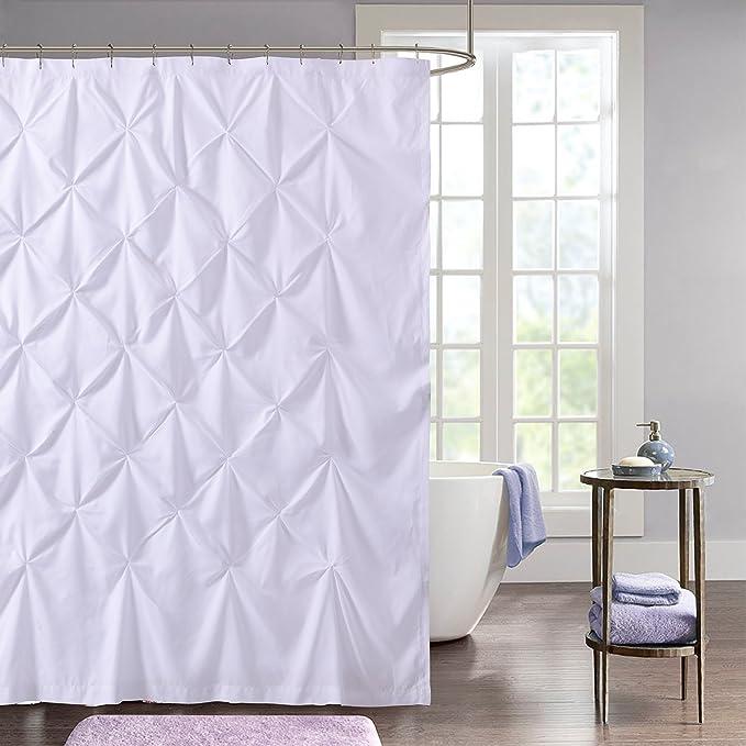 3x Household PVC Shower Curtain White 180x200cm 2x 1x