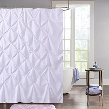 Exceptional Sweet Home Collection Fabric Shower Curtain Pinch Pleat Pintuck Stylish  Design, 70u0026quot; X 72u0026quot