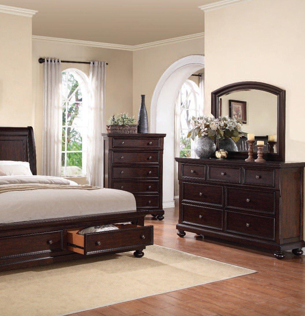ACME Grayson Dark Walnut Dresser