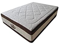 Dynasty Mattress 15.5-Inch Grand AtlantisBreeze Cool HD GEL Memory Foam Mattress