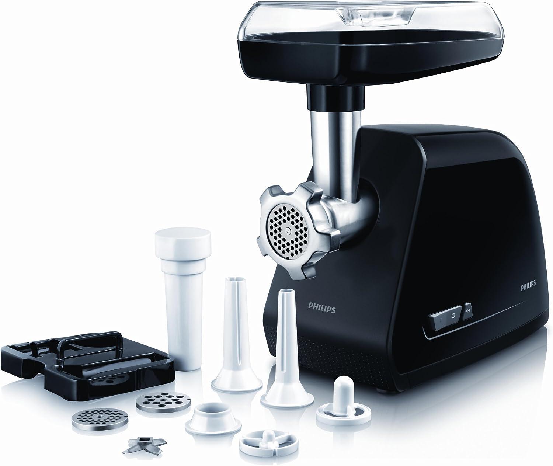 Philips HR2726/90 - Picadora de carne (2 kg/minuto, tornillos y rejillas de metal, 9 accesorios, 1500 W) - (importado de Francia): Amazon.es: Hogar