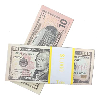 Amazon com: EWIBUSA COPY MONEY Total $10, 000 Dollar $10