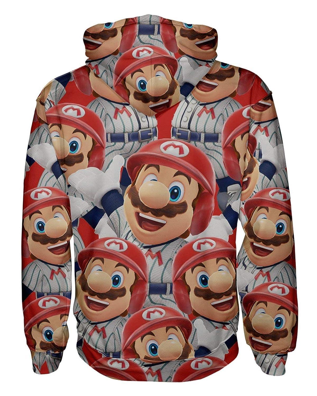 Super Mario Pullover Hoodie