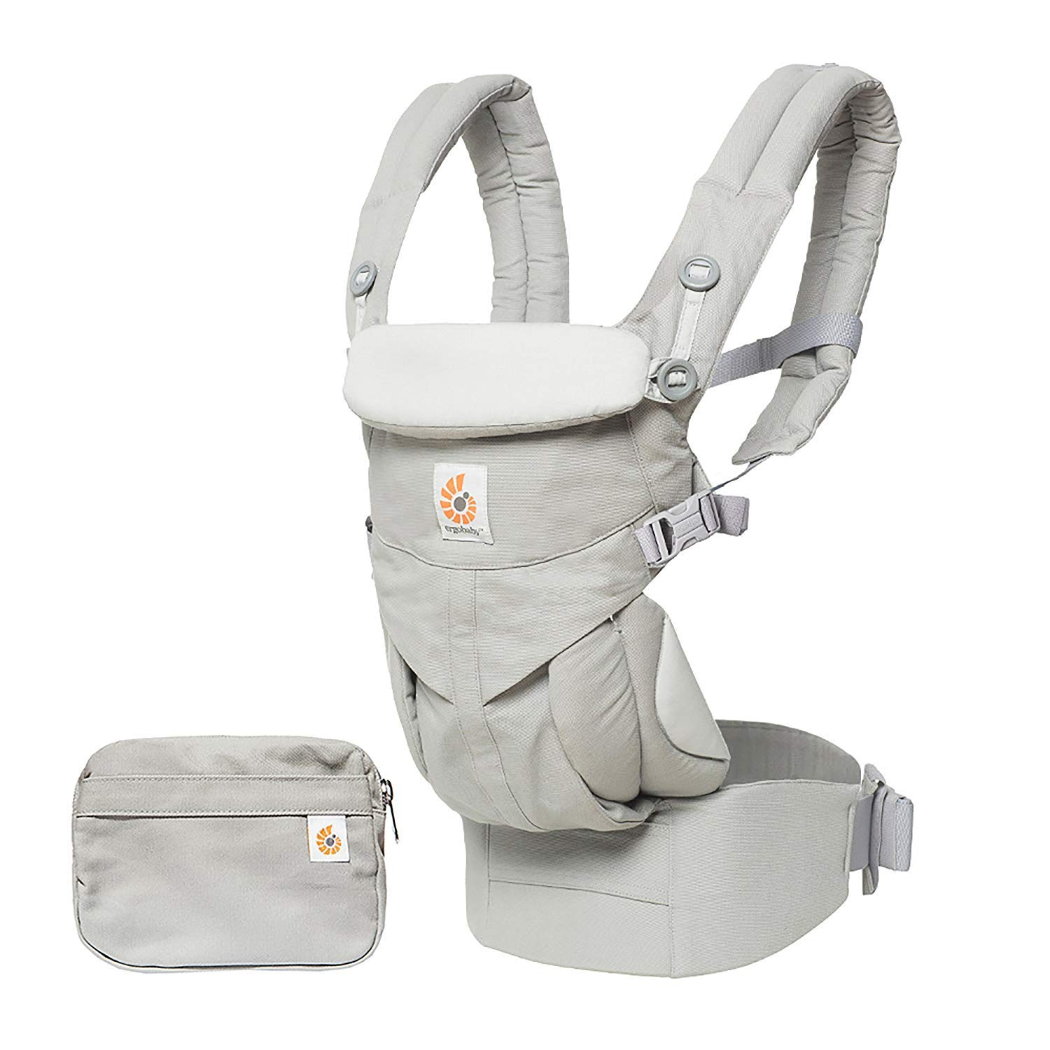 Ergobaby Carrier, Omni 360 All Carry Positions Baby Carrier, Pearl Grey by Ergobaby (Image #4)
