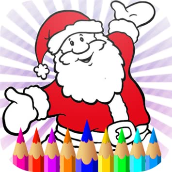 Amazon Com Christmas Santa Coloring Pages Halloween 2019 Happy