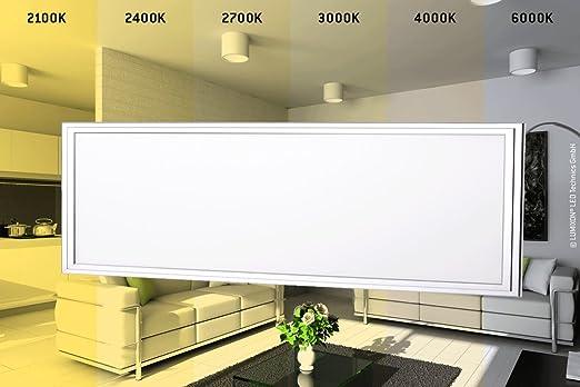 2 opinioni per Pannello LED LUMIXON CCT 120x30 cm, da 3000 fino a 6000K, 40 Watt, 3 anni di