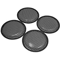 "sourcing map 4Pcs 6"" Pulg. Subwoofer Protector Tapa"