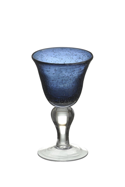 Artland Iris Wine Glass, Set of 2, Slate Blue ART50946PK2