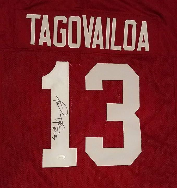 free shipping 82458 62364 Tua Tagovailoa Autographed Signed Memorabilia Alabama ...
