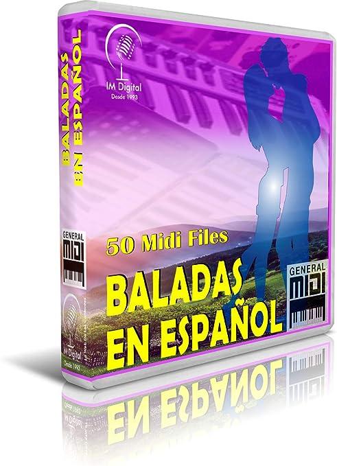 Baladas En Español - Pendrive USB OTG para Teclados Midi, PC ...