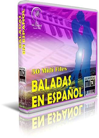 Baladas En Español - Pendrive USB OTG para Teclados Midi, PC, Móvil, Tablet, Módulo o Reproductor Midi Que utilices: Amazon.es: Electrónica